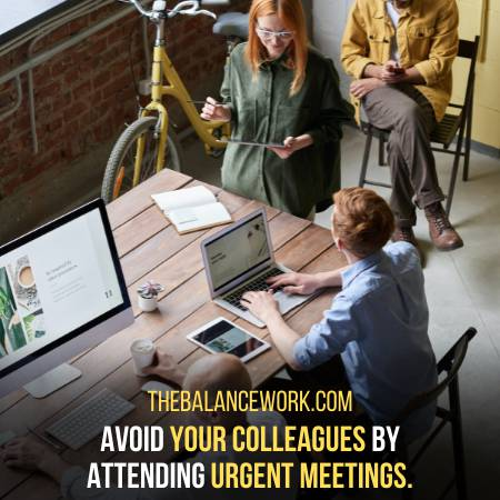 Excuse That You Have To Attend A Meeting