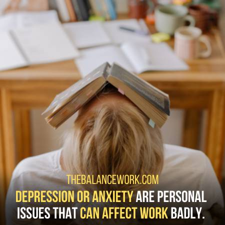 Work Gets Affected By Depression Or Anxiety
