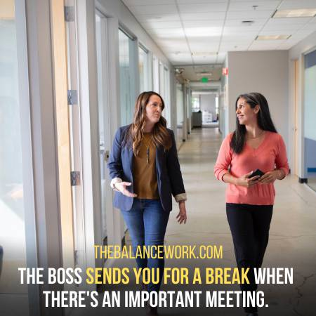 You Do Not Get Included In Meetings