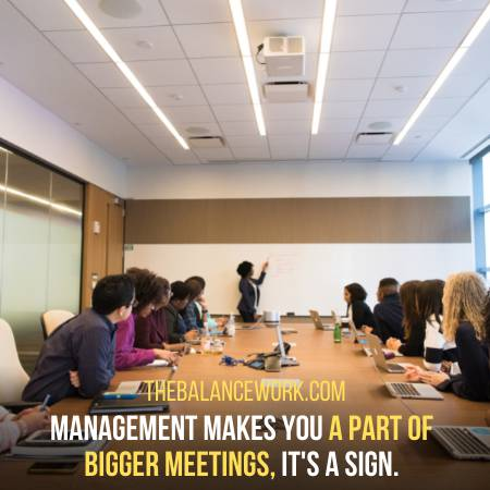 You Get To Participate In Meetings