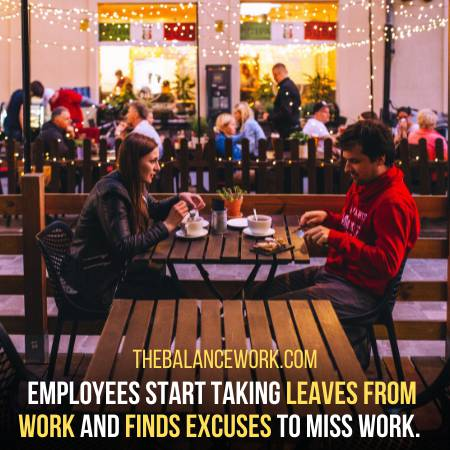 Employees Finds Excuses To Miss Work