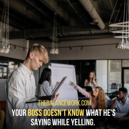 Your Boss Does Not Know What He Is Saying