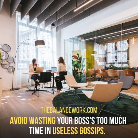Avoid Wasting The Time Of Your Boss